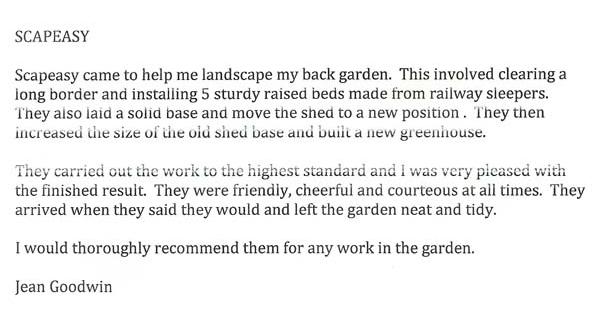 Scapeasy Landscape Gardening Sheffield